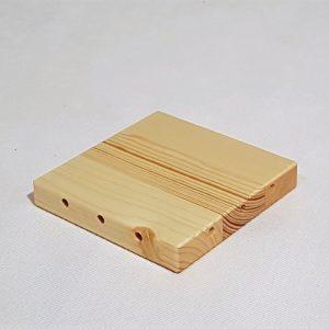 Bok dřevěná cihla